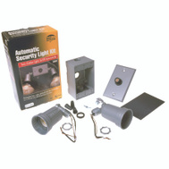 Hubbell Electrical 5883-5 Bell Dusk-To-Dawn Gray Double Secure Lamp Holder Kit