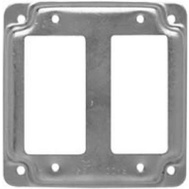 Raco 809C Cover Box Sq Stl Surf 2Gfci4in