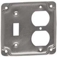 Raco 906C 4 Inch Toggle/Duplex Square Box Cover
