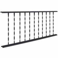 LL Building TR475 Village Ironsmith 4 Foot Traditional Twisted Rail