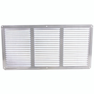 LL Building EAC16X8 16 Inch By 8 Inch Aluminum Undereave Vent Ml