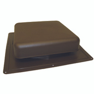 LL Building RT65BR GAF Roof Louver Brown