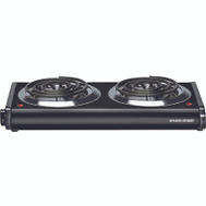 Applica DB1002B Black & Decker Plate Hot Dbl Burner Blk