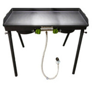 Barbour PS217 Stove Patio 2-Brnr W/Grdl Tppr
