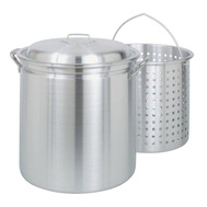 Barbour 4060 Bayou Classic Stockpot Steamer 60 Quart With Basket