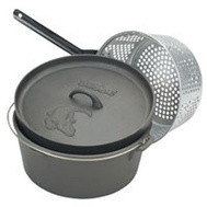 Barbour 7460 Bayou Classic 8 1/2 Quart Dutch Oven With Lid And Basket