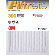 3M 302DC-H-6 Filtrete Clean Living Basic Dust Filters 20 Inch By 20 Inch By 1 Inch