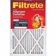 3M 9807-6 Filtrete Micro Allergen Defense Filter 10 Inch By 20 Inch By 1 Inch