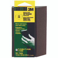3M CP-040NA Sanding Sponge Detail Angled 4-7/8 By 2-7/8 Inch By 1 Inch, Fine Grit