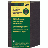 3M CP-041NA Sanding Sponge Detail Angled 4-7/8 Inch By 2-7/8 Inch By 1 Inch Medium Grit