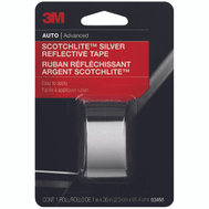 3M 03455 Scotchlite Reflective Safety Tape Silver And White 1 By 36 Inch