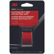 3M 03458 Scotchlite Reflective Safety Tape Red 1 By 36 Inch