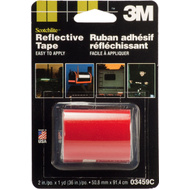 3M 03459 Scotchlite Reflective Safety Tape Red 2 By 36 Inch