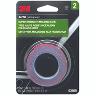 3M 03609NA Scotch Molding Tape 1/2 Inch By 5 Foot