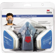 3M 7512PA1-A/R-7512E Medium Professional Paint Respirator With Cool Flow Valve