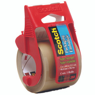 3M 347 Scotch Packaging Tape, Super Strong, Tan, 2 Inch By 800 Inch