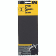 3M 9091 Drywall Sanding Sheets, 4-3/16 Inch By 11 Inch, Fine Grit