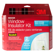 3M 2120 W-6 Insulator Kit For 3 Foot By 5 Foot Windows Pack Of 2