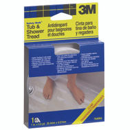 3M 7640 Safety Walk Anti Slip Clear Tub And Shower Safety Tread, 1 Inch By 180 Inch