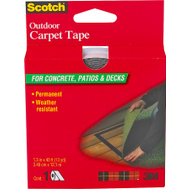 3M CT3010 Scotch Heavy Duty Outdoor Carpet Tape 1 3/8 Inch By 40 Foot