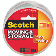 3M 3650 Scotch Storage Tape, Clear, 2 Inch By 55 Yards
