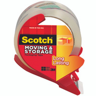 3M 3650S-RD Scotch Shipping Tape With Dispenser 1.88 Inch By 54.6 Yards