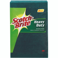 3M 228 Scotch Brite Heavy Duty Scour Pads Pack Of 8