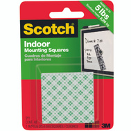3M 111H-SQ-48-DC Scotch Mounting Tape Squares Heavy Duty 1 By 1 Inch