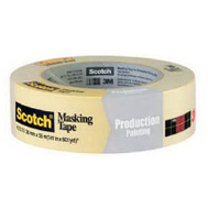 3M 2025-36C Scotch Masking Tape General Purpose 1-1/2 Inch By 60 Yards