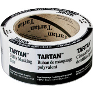3M 5142-48A Tartan Utility Masking Tape 2 Inch By 60 Yards
