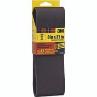 3M 99264 3 By 21 Inch Sanding Belts 120 Grit Fine 5 Pack