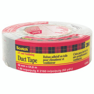 3M 1260-A Scotch Cloth Duct Tape Heavy Duty 2 Inch By 60 Yards