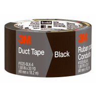 3M 3920-BK Scotch Multi Purpose Duct Tape Black Waterproof Backing 2 Inch By 20 Yards