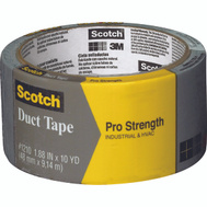 3M 1210-A Scotch Cloth Duct Tape Heavy Duty 1 9/10 Inch By 10 Yards