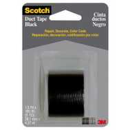 3M 1005-BLK-CD 1.5 Inch X5yd BLK Duct Tape