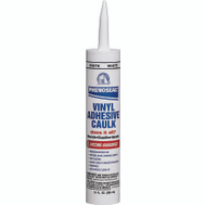 Phenoseal 00005 10 Ounce White Vinyl Adhesive Caulk