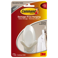 3M 17087QES Command Med Qtz Dbl Hook
