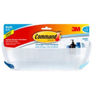 3M BATH11-ES Command Self Adhesive Shower Caddy