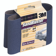 3M 9611 Sand Blaster 4 By 24 Inch Cubitron Mineral Power Sanding Belts 80 Grit Medium