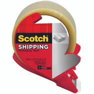 3M 3350S-RD Shipping Tape With Dispenser 1.88 Inch By 54 Yards