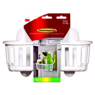 3M 17604-HWES LG WHT Under Sink Caddy