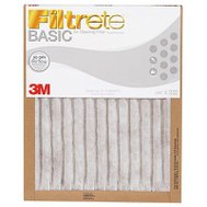 3M 216251 True Blue Basic Protection Pleated Air Filter 16 Inch By 25 Inch By 1 Inch