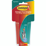 3M HOM-16 Command Organizer Caddy Small Clear