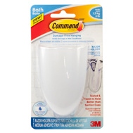 3M BATH16-ES Command Self Adhesive Razor Holder