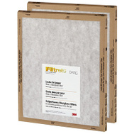 3M FPA05-2PK-24 Filtrete Basic Flat Panel Filter 14 Inch By 20 Inch By 1 Inch