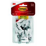 3M 17067-MPES 28PK SM Wire Hooks
