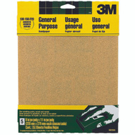 3M 9005NA Sand Blaster Aluminum Oxide Sandpaper Sheets, Assorted Grit, 9 Inch By 11 Inch, 5 Pack