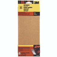 3M 9010 Sand Blaster 4-1/2 By 11 Inch Finishing Sander Sheets 100 Grit Medium 5 Pack