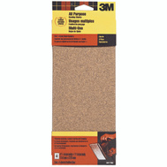 3M 9011 Sand Blaster 4-1/2 By 11 Inch Finishing Sander Sheets 60 Grit Coarse 4 Pack