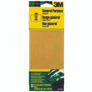 3M 9015 Sand Blaster Aluminum Oxide Sandpaper Sheets, 150 Grit, 3-2/3 Inch By 9 Inch, 6 Pack
